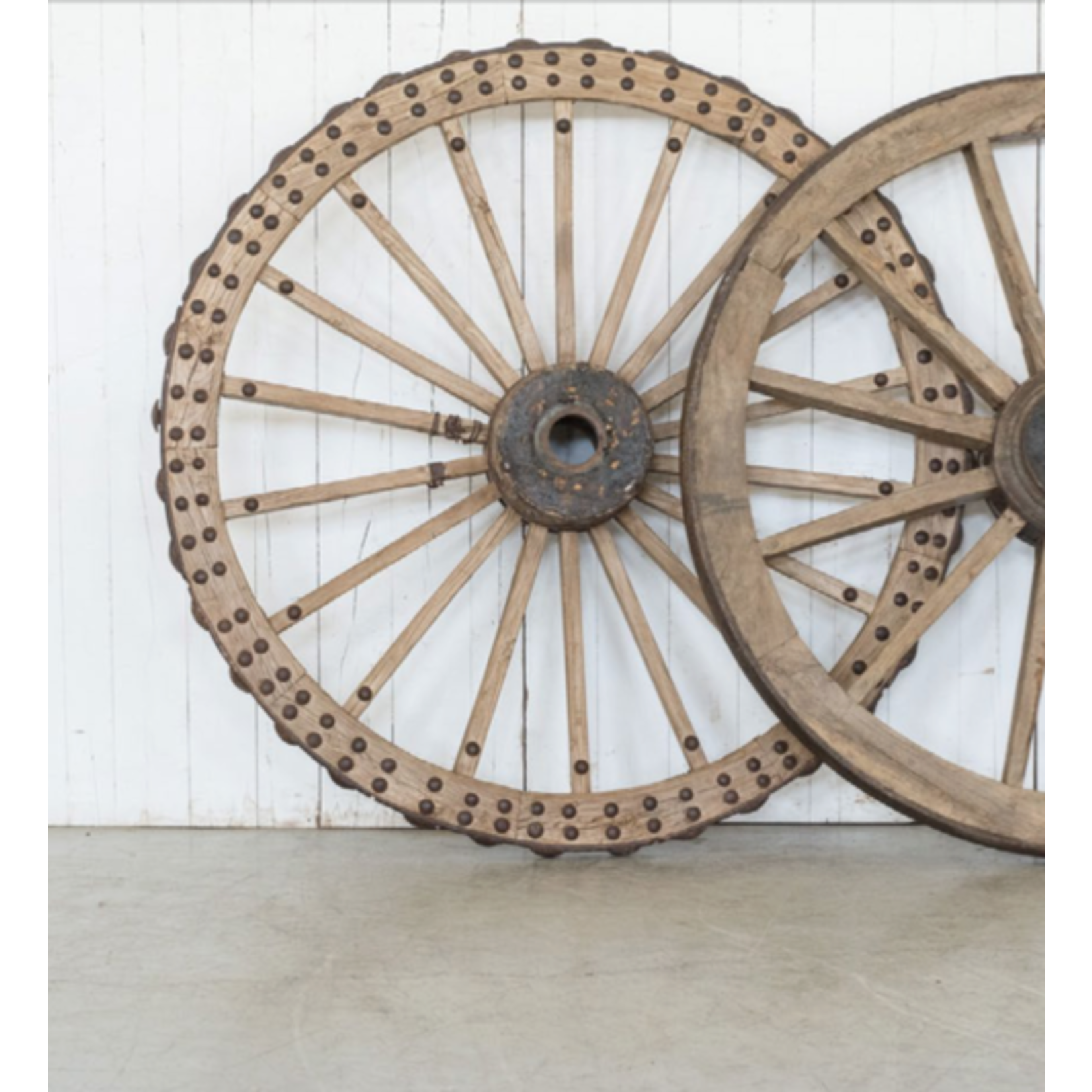 VAN THIEL ANTIQUE WAGON WHEEL