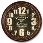 ANTIC LINE WALL CLOCK CHOCOLATE FACTORY