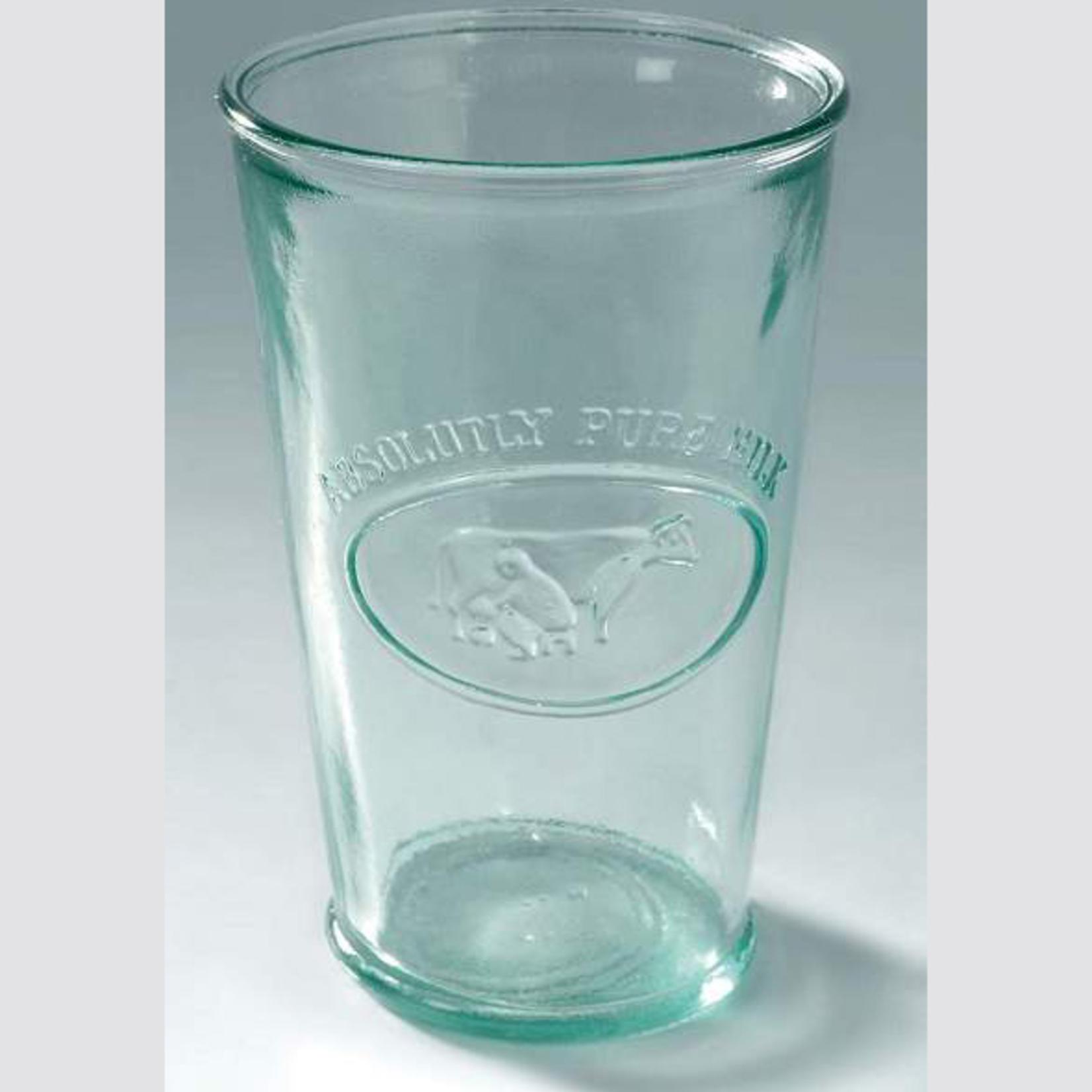 ANTIC LINE MILK GLASS