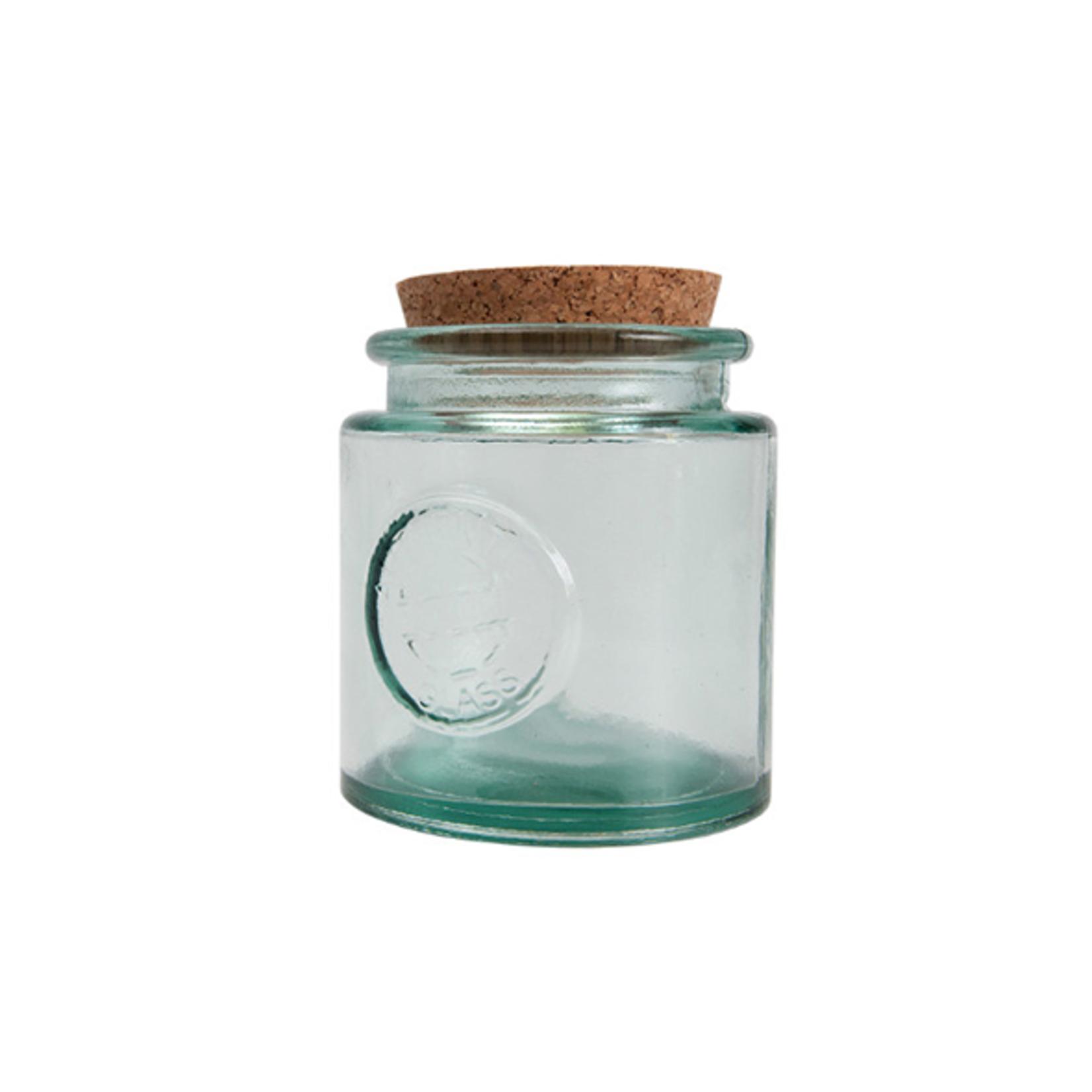 ANTIC LINE GLASS JAR BIG