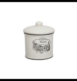 ANTIC LINE Jar with lid