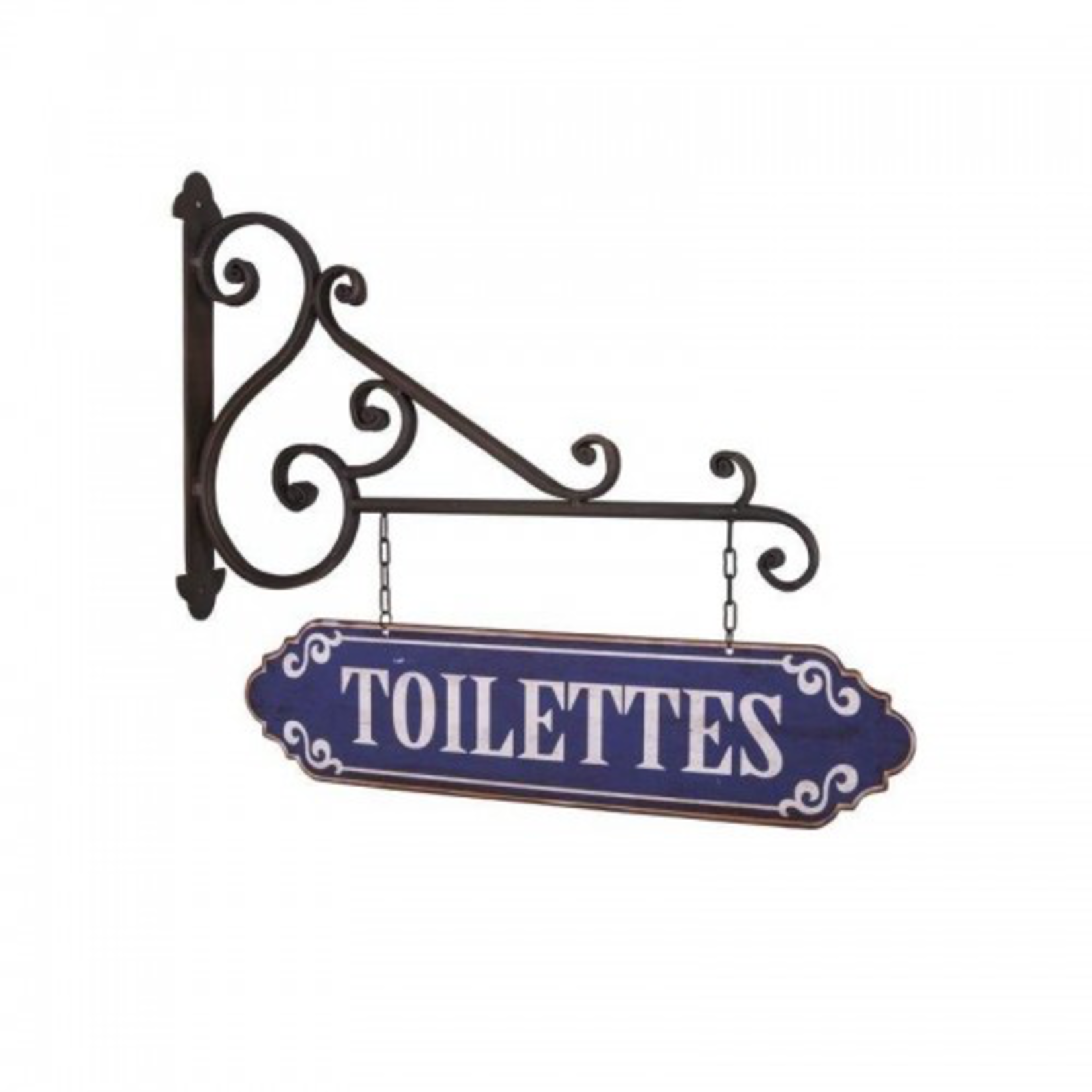 """ANTIC LINE Wall panel """"TOILETTES"""""""