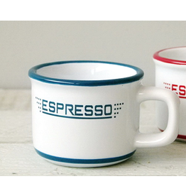 "ANTIC LINE Mug ""Espresso"" white / blue"