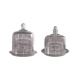 ANTIC LINE Set 2 bells with tray