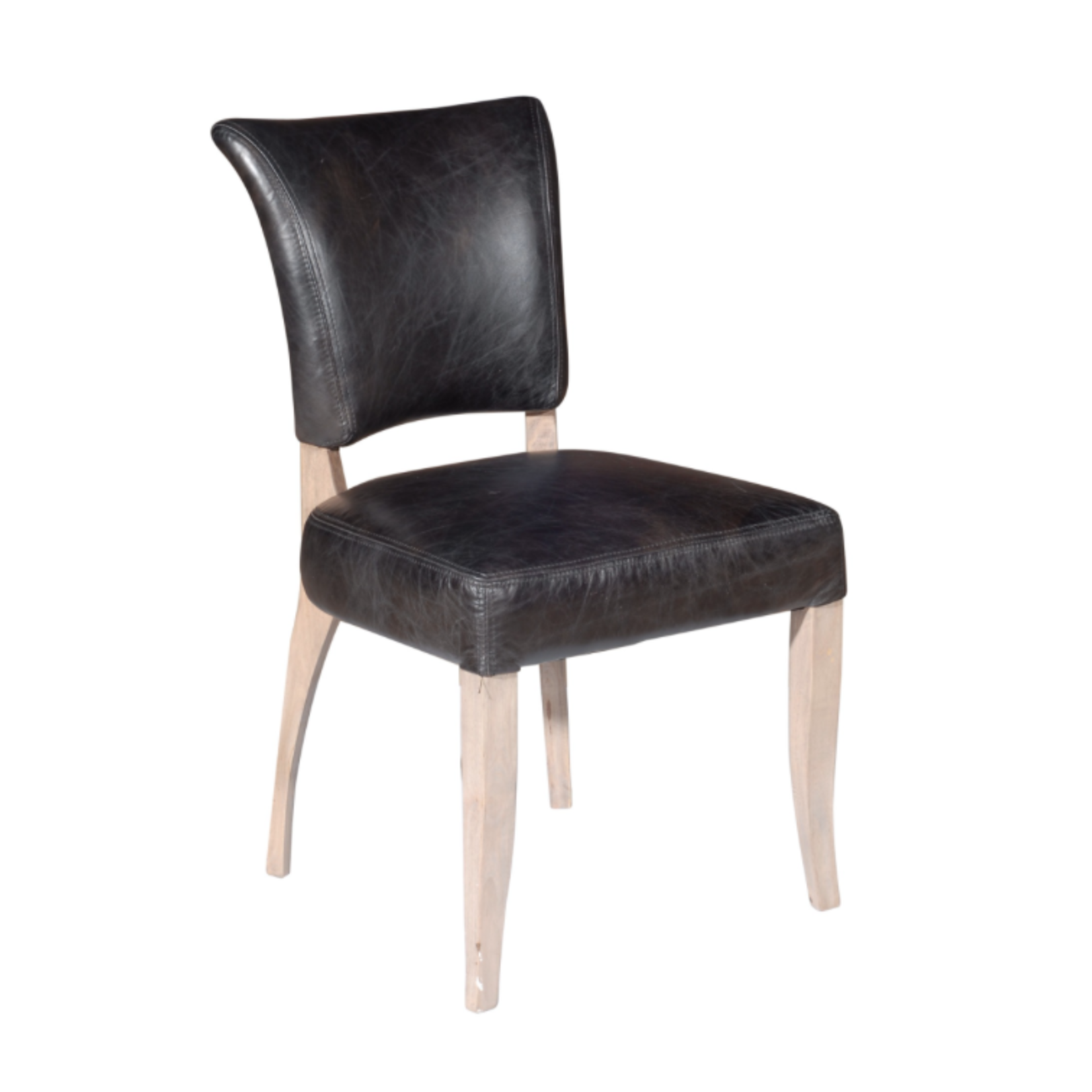 TIMOTHY OULTON MIMI DINING CHAIR DESTROYED BLACK