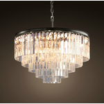 TIMOTHY OULTON ODEON 5 RING CHANDELIER