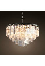 TIMOTHY OULTON ODEON MEDIUM 5 RING CHANDELIER
