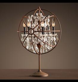 TIMOTHY OULTON GYRO CRYSTAL TABLE LAMP