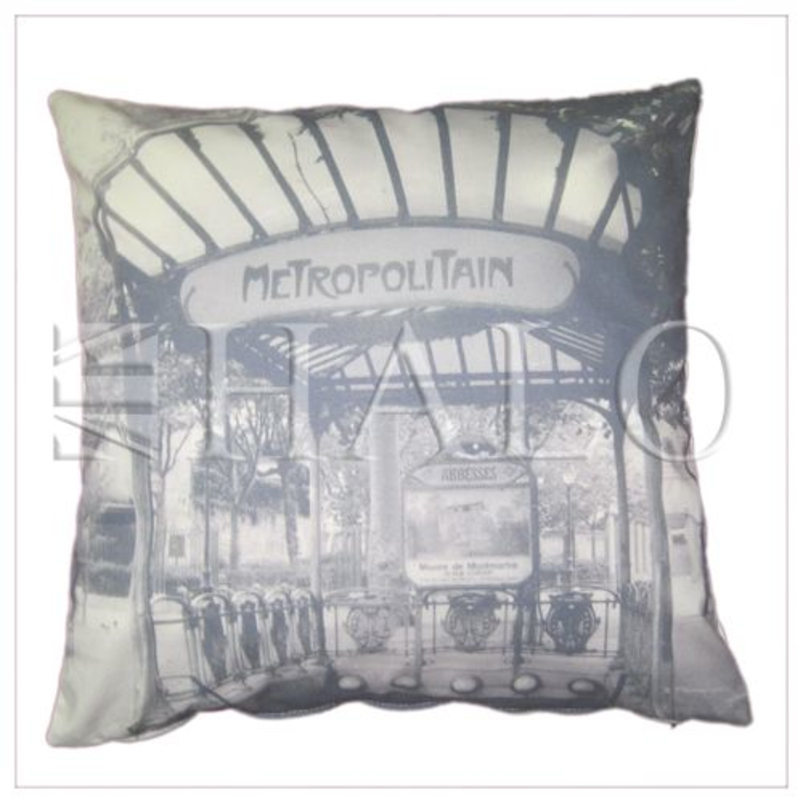 TIMOTHY OULTON EMELIE'S METROPOLITAN CUSHION BIG