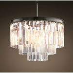 TIMOTHY OULTON ODEON 3 RING CHANDELIER
