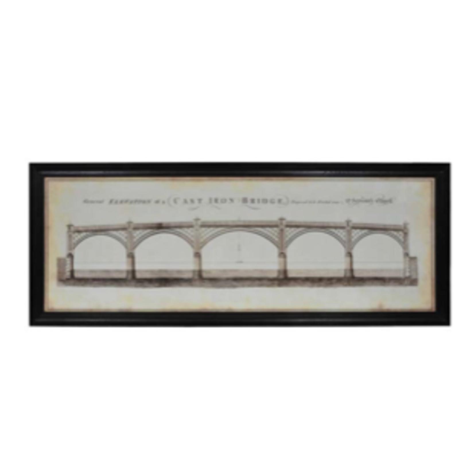TIMOTHY OULTON ARCHTRL IRON BRIDGE NATURAL LARGE ART
