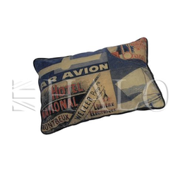 TIMOTHY OULTON CUSHION PILLLOW GLOBETROTTER