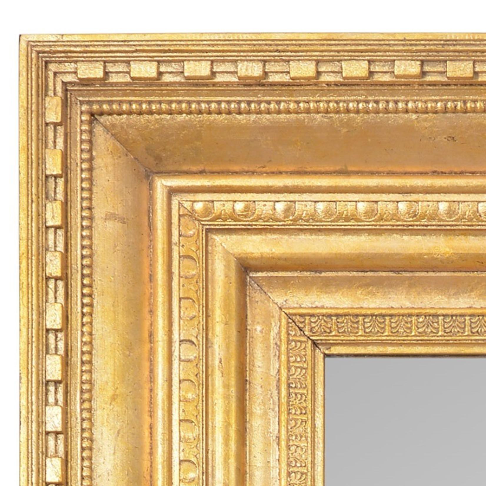 TIMOTHY OULTON HEROIC MIRROR  THIN-GOLD
