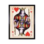 TIMOTHY OULTON CARDS KONIG HEARTS - BLK WD