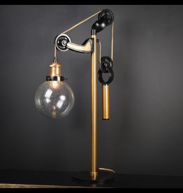 OBJET DE CURIOSITE DESK LAMP WITH COUNTERWEIGHT