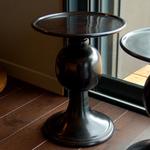 OBJET DE CURIOSITE SIDE TABLE ALUMINUM STOOL
