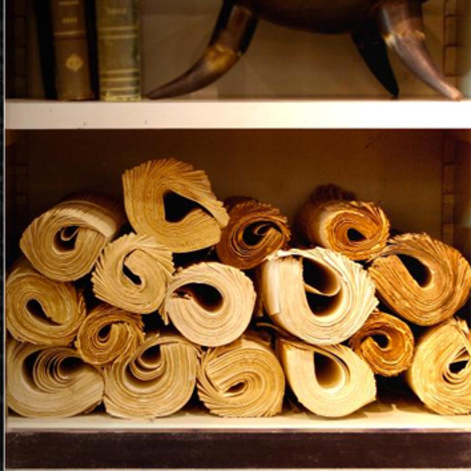 OBJET DE CURIOSITE Rolls of books Each