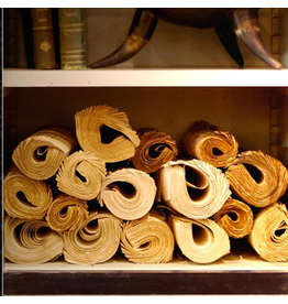 OBJET DE CURIOSITE Rolls of books Each