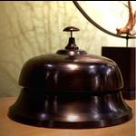 OBJET DE CURIOSITE XL black hotel bell