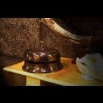 OBJET DE CURIOSITE Aluminium bell