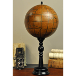 OBJET DE CURIOSITE LEATHER GLOBE