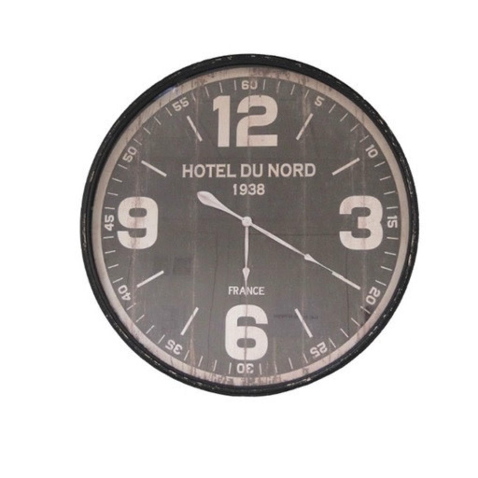 ANTIC LINE WALL CLOCK HOTEL DU NORD