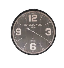 ANTIC LINE WALL CLOCK HOTEL DU NORD