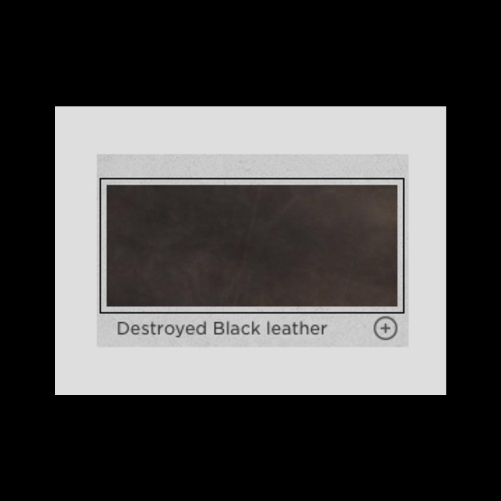 TIMOTHY OULTON MIMI BARSTOOL DESTROYED BLACK