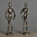 ATELIERS & CSD ARTICULATED BLACK DUMMIES