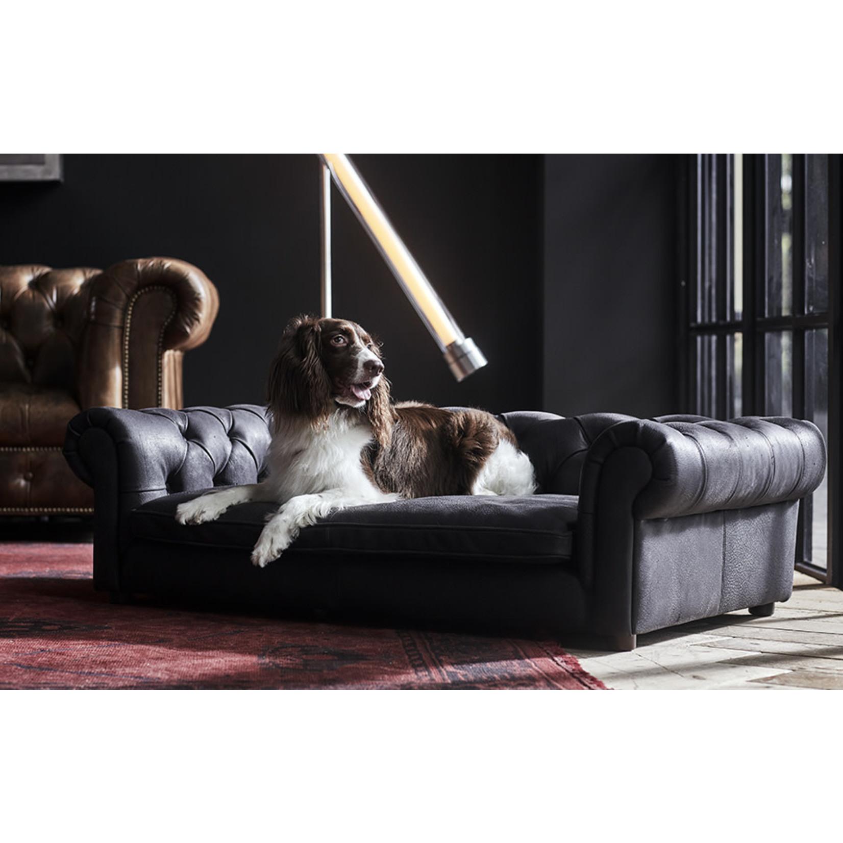TIMOTHY OULTON TO WESTMINSTER DOG BED SAFARI BLACK