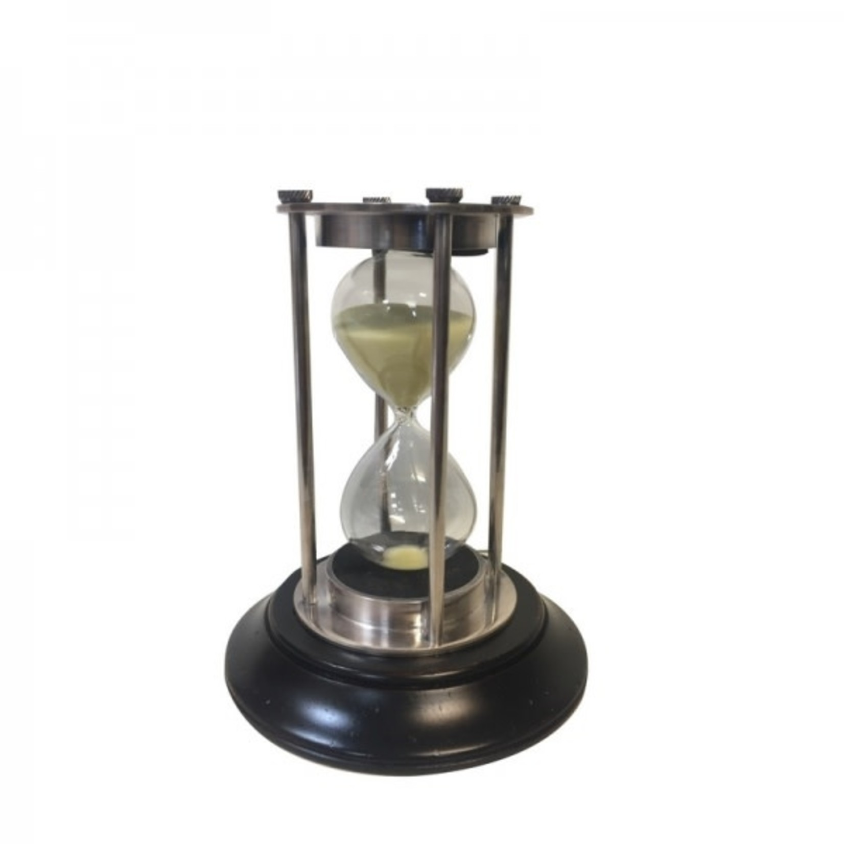 AUTHENTIC MODELS HOURGLASS SILVER 30 MINUTE