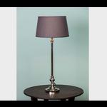 CHEHOMA TABLE LAMP ROUND BASE SHINY NICKEL