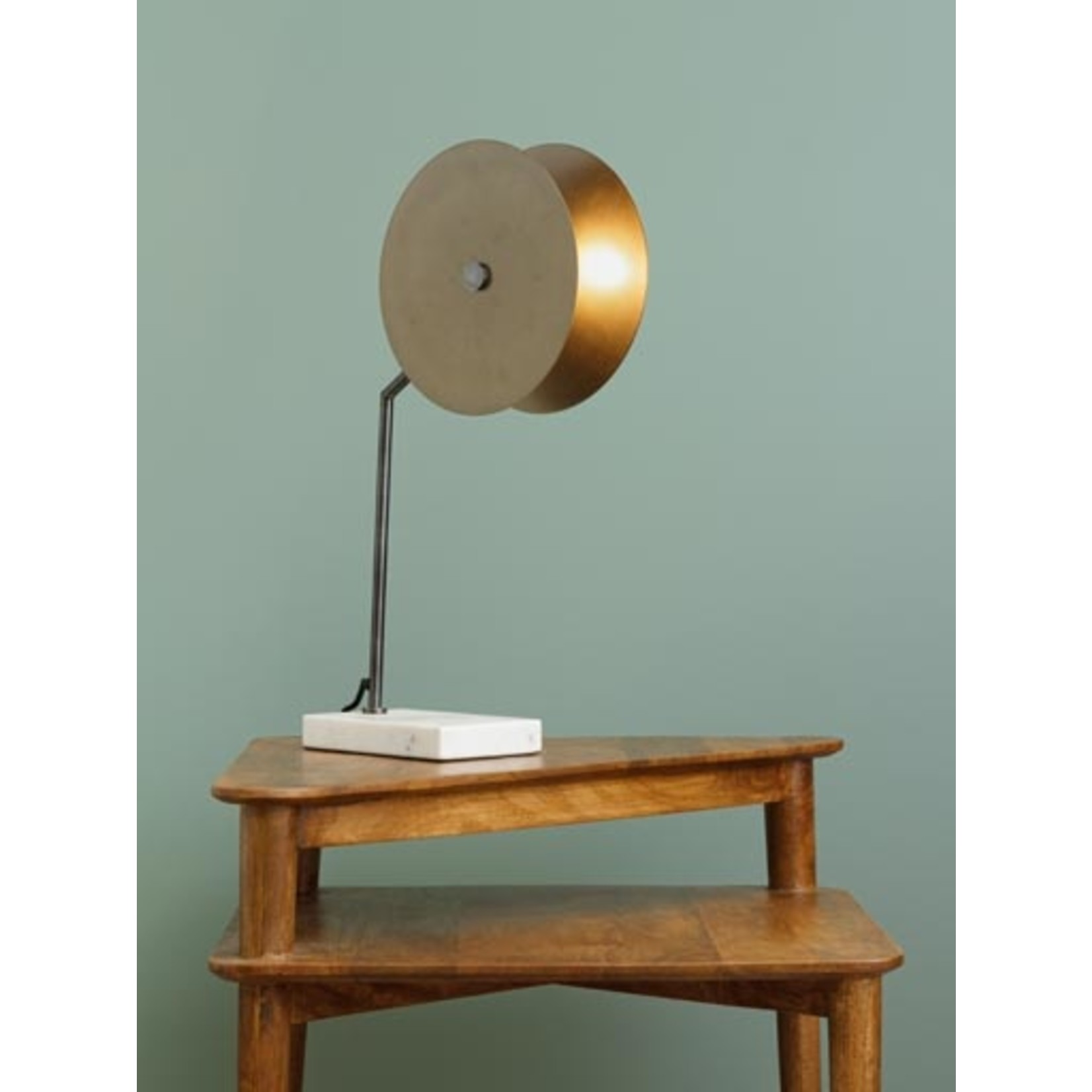 CHEHOMA TABLE LAMP WENT GOLD MARBLE BASE