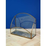 CHEHOMA GLASS TRAY WITH MIRROR BASE