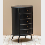CHEHOMA SMALL OVAL CHEST 1DRAWER & 1 DOOR ORLANS