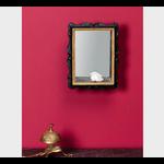 CHEHOMA SMALL BLACK SHELF BOX WITH MIRROR