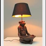 CHEHOMA MONKEY LAMP WITH TRAY & SHADE