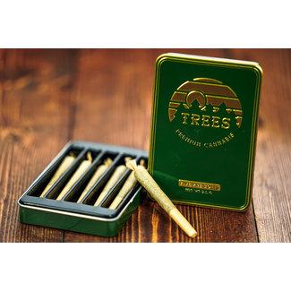 Trees Premium Trees Premium Cannabis Pre-Rolls 5 Pack (2.5 g) - Case of 12