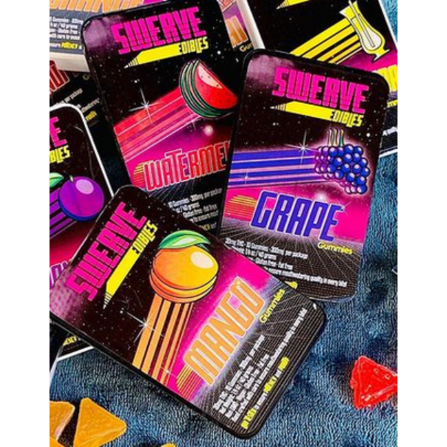Swerve Gummies (300 mg) 10 Pack - Case of 6