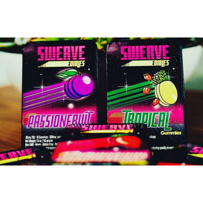 Swerve Gummies (100 mg) - Case of 6