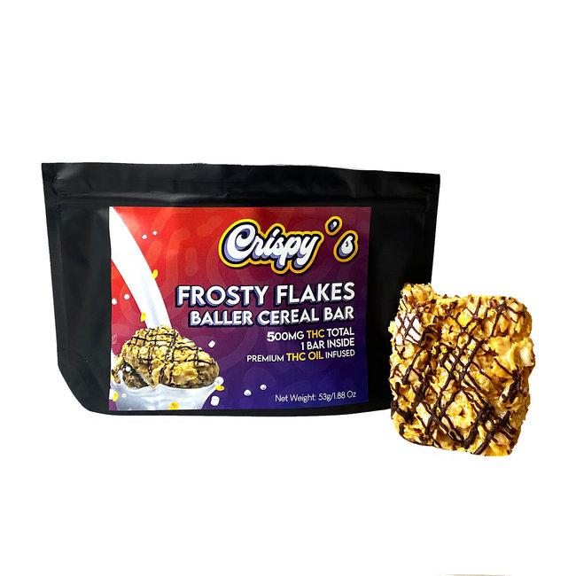 Crispy's Baller Cereal Bar (500 mg) - Case of 5