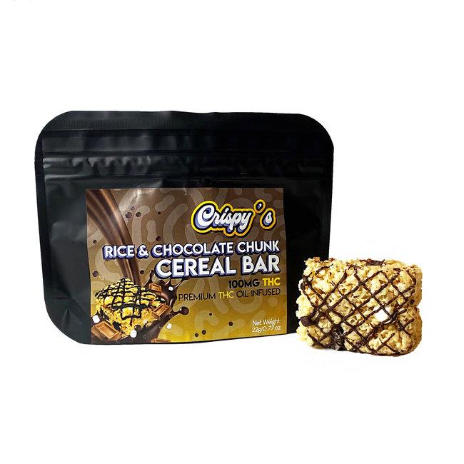 Crispy's Cereal Bar (100 mg) - Case of 5