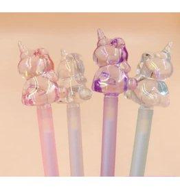 Crystal Unicorn Gel Pen