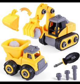 Take-A-Part Construction Trucks (Series 1)