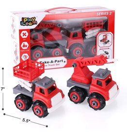 Take-A-Part Fire Trucks (Series 2)