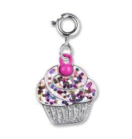 Glitter Cupcake Charm