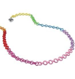 Charm It Rainbow Chain Necklace