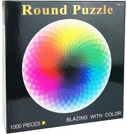 Rainbow Round Puzzle 1000pcs