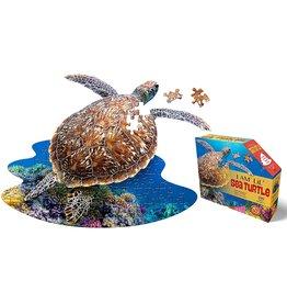 I Am Sea Turtle Puzzle 100pcs