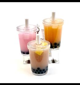 BC Usa Boba Tea Keychain